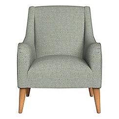 Debenhams - Textured weave 'Darcey' armchair