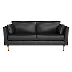 RJR.John Rocha - 2 seater luxury leather 'Ravello' sofa