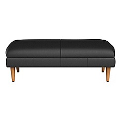 RJR.John Rocha - Luxury leather 'Ravello' footstool