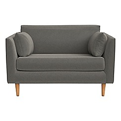 RJR.John Rocha - Natural grain leather 'Ravello' loveseat