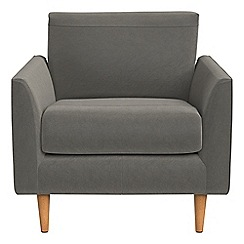 RJR.John Rocha - Natural grain leather 'Ravello' armchair