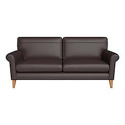 Debenhams - 3 seater luxury leather 'Arlo' sofa