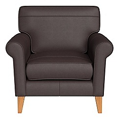 Debenhams - Luxury leather 'Arlo' armchair