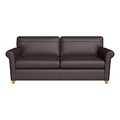 Debenhams - Luxury leather 'Arlo' sofa bed