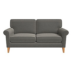 Debenhams - 2 seater natural grain leather 'Arlo' sofa