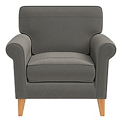 Debenhams - Natural grain leather 'Arlo' armchair