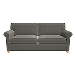 Debenhams - Natural grain leather 'Arlo' sofa bed