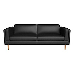 Debenhams - 4 seater luxury leather 'Lille' sofa