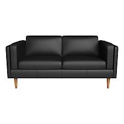 Debenhams - 2 seater luxury leather 'Lille' sofa