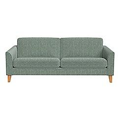 Debenhams - 3 seater chenille 'Carnaby' sofa