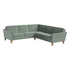 Debenhams - Chenille 'Carnaby' corner sofa