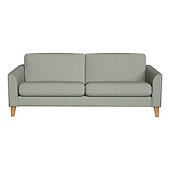 Debenhams - 3 seater textured fabric 'Carnaby' sofa