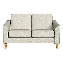 Debenhams - Compact textured fabric 'Carnaby' sofa