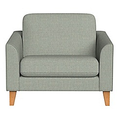 Debenhams - Textured fabric 'Carnaby' loveseat
