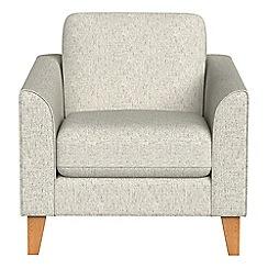 Debenhams - Textured weave 'Carnaby' armchair