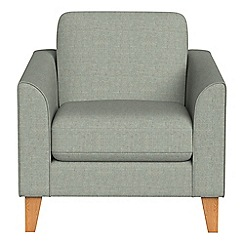Debenhams - Textured fabric 'Carnaby' armchair