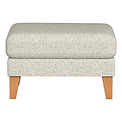 Debenhams - Textured weave 'Carnaby' footstool