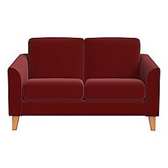 Debenhams - Compact velvet 'Carnaby' sofa