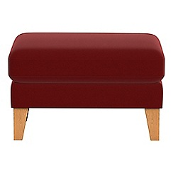 Debenhams - Velvet 'Carnaby' footstool