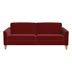 Debenhams - 3 seater velvet 'Carnaby' sofa bed