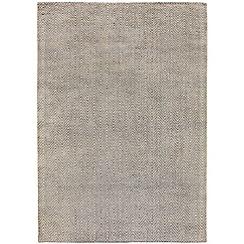 Debenhams - Light grey 'Ives' rug