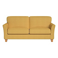 Debenhams - 3 seater tweedy weave 'Broadway' sofa