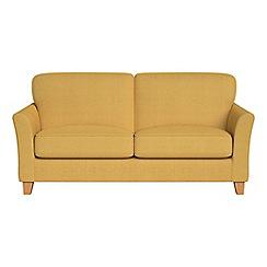 Debenhams - 2 seater tweedy weave 'Broadway' sofa
