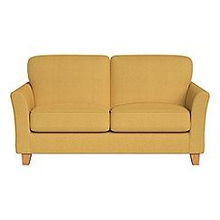 Debenhams - Small 2 seater tweedy weave 'Broadway' sofa