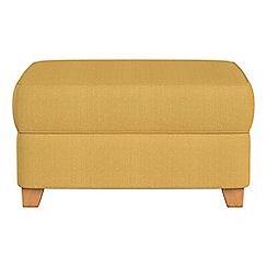 Debenhams - Tweedy weave storage footstool