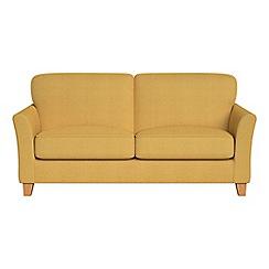 Debenhams - 2 seater tweedy weave 'Broadway' sofa bed