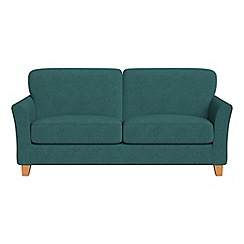 Debenhams - 3 seater velour 'Broadway' sofa