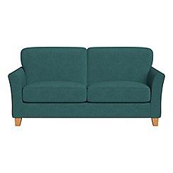 Debenhams - 2 seater velour 'Broadway' sofa