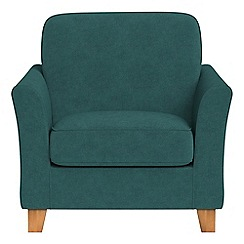 Debenhams - Velour 'Broadway' armchair