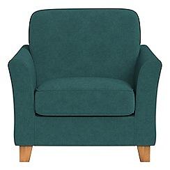 Debenhams - Velour 'Broadway' armchair