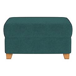 Debenhams - Velour storage footstool