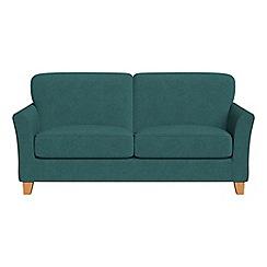 Debenhams - 2 seater velour 'Broadway' sofa bed