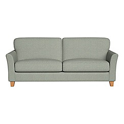 Debenhams - 4 seater textured weave 'Broadway' sofa