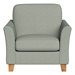 Debenhams - Textured weave 'Broadway' armchair