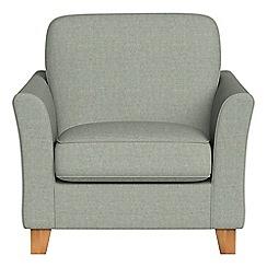 Debenhams - Textured weave 'Broadway' armchair