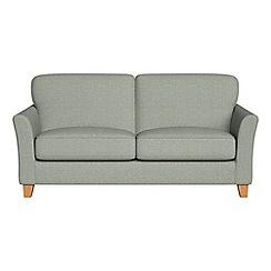 Debenhams - 2 seater textured weave 'Broadway' sofa bed