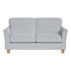 Debenhams - Small 2 seater brushed cotton 'Broadway' sofa