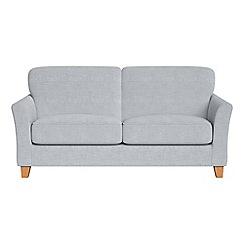 Debenhams - 2 seater brushed cotton 'Broadway' sofa bed