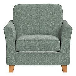 Debenhams - Chenille 'Broadway' armchair