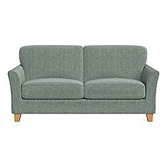 Debenhams - 2 seater chenille 'Broadway' sofa bed