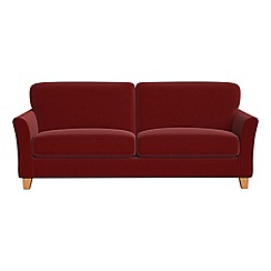 Debenhams - 4 seater velvet 'Broadway' sofa