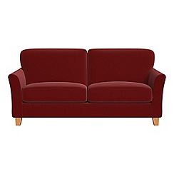 Debenhams - 3 seater velvet 'Broadway' sofa