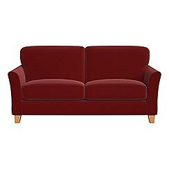 Debenhams - 2 seater velvet 'Broadway' sofa