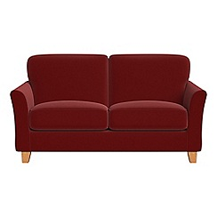 Debenhams - Small 2 seater velvet 'Broadway' sofa