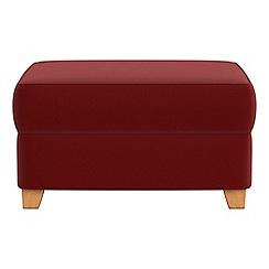 Debenhams - Velvet storage footstool