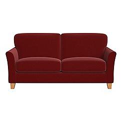 Debenhams - 2 seater velvet 'Broadway' sofa bed